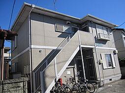 千葉県船橋市新高根5丁目の賃貸アパートの外観