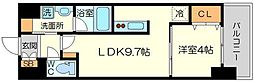 (仮称)ニコニコタクシー株式会社様プロジェクト 8階1LDKの間取り