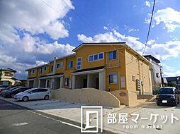 愛知県豊田市美里6丁目の賃貸アパートの外観