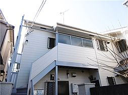 東京都大田区池上1丁目の賃貸アパートの外観