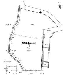 販売土地実測図