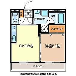 Royal・Stage佐久平[2階]の間取り