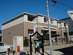 愛知県一宮市東五城字寺廓の賃貸アパートの外観