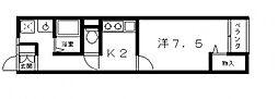 藤井寺大発マンション[321号室号室]の間取り