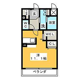 SUNRIVER YOKOSUKA[2階]の間取り