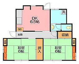 [一戸建] 神奈川県横浜市泉区中田南4丁目 の賃貸【/】の間取り