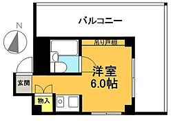 アビタ松原[301号室]の間取り