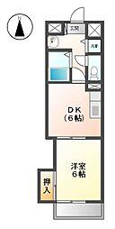 第2黒川タ−ミナルハイツ[7階]の間取り