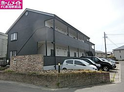 愛知県長久手市原山の賃貸アパートの外観