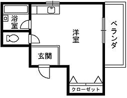 大阪府和泉市池上町の賃貸マンションの間取り