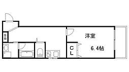 JR東海道・山陽本線 神戸駅 徒歩11分の賃貸マンション 1階1Kの間取り