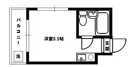 マキシム新淀川[3階]の間取り