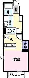 モデルノB[0101号室]の間取り
