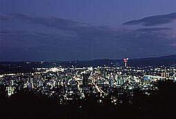 西側、会津の夜...