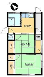 [一戸建] 東京都足立区加賀1丁目 の賃貸【/】の間取り