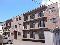 北海道札幌市西区八軒八条東2丁目の賃貸マンションの外観