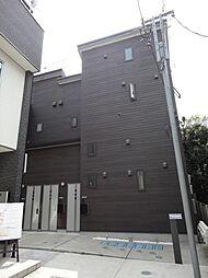 東京都港区三田4丁目の賃貸アパートの外観