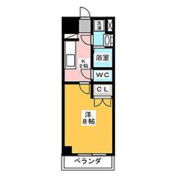 サニー大曽根[7階]の間取り