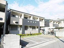 大阪府堺市堺区老松町1丁の賃貸アパートの外観
