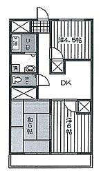 相模原昭和ビル[3階]の間取り