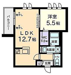 Mitaka Style I[2階]の間取り