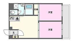 カーサ日本橋[6階]の間取り