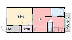 Matsumotoハイツ[101号室]の間取り