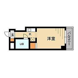 東京都板橋区蓮根2丁目の賃貸マンションの間取り