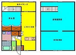 [一戸建] 宮崎県小林市大字細野 の賃貸【/】の間取り