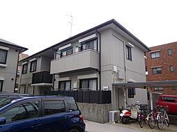 兵庫県西宮市北昭和町の賃貸アパートの外観
