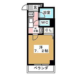 永澤金港堂ビル[4階]の間取り