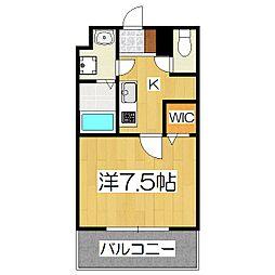 maison mint[2階]の間取り