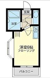 ベルメゾン井土ヶ谷[2階]の間取り