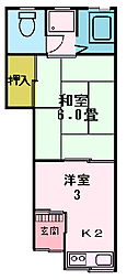 [テラスハウス] 大阪府門真市新橋町 の賃貸【/】の間取り