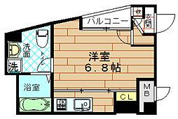 ウイステリア野田2番館[2階]の間取り