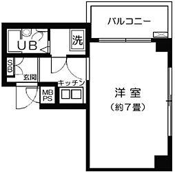 神奈川県川崎市宮前区宮崎2丁目の賃貸マンションの間取り