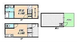 W&Rアパートメント02[2階]の間取り