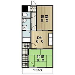 ダイソー15号館[2階]の間取り
