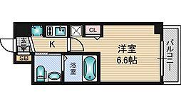 エステムコート新大阪9グランブライト[11階]の間取り