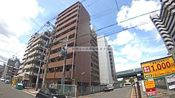 大阪府東大阪市長田中1丁目の賃貸マンションの外観