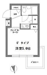 アーバンパーク高円寺[1階]の間取り