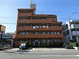 愛知県清須市西枇杷島町花咲の賃貸マンションの外観