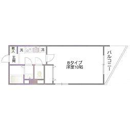パサニアガーデン椎名町[3B号室号室]の間取り