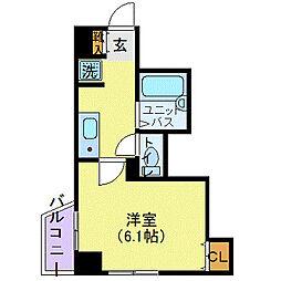 スカイコートヴァンテアン早稲田(スカイコートヴァンテアンワセ[2階]の間取り