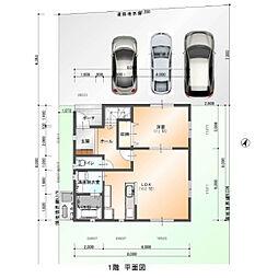 建築プラン1階...
