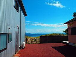 住戸から琵琶湖...