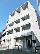 サンクタス市ヶ谷富久町 WEST TERRACE 平成21年築 5階建て4階所在 総戸数13戸の都心低層建築マンション