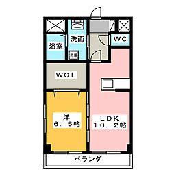 CREA元今泉[2階]の外観
