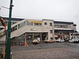 蕨駅です。