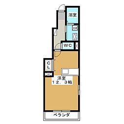 コンフォート 21[1階]の間取り